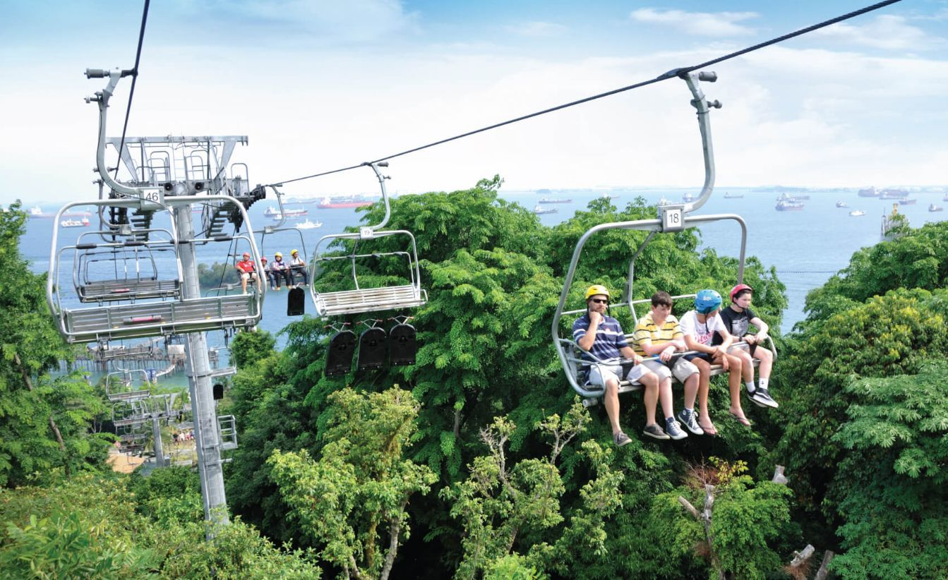 Cable Car in Sentosa