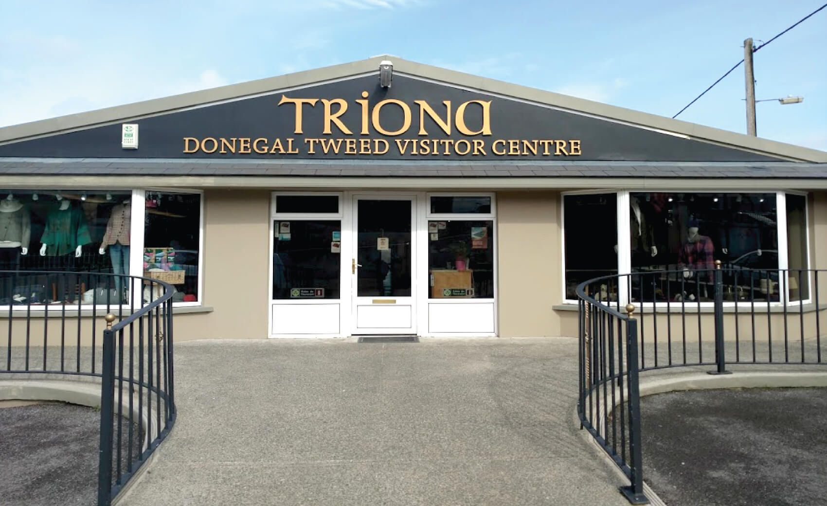 Triona Design Donegal Tweed Center