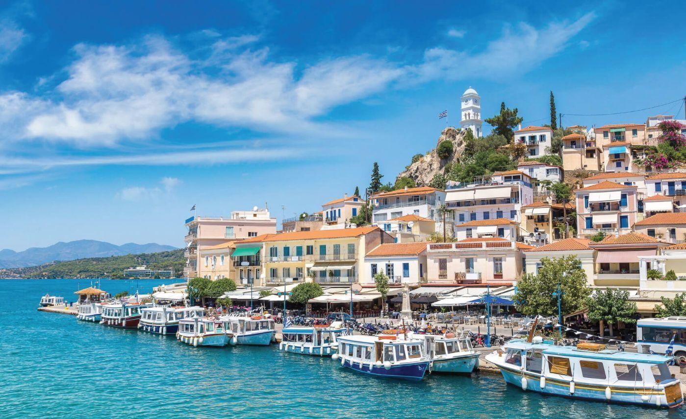 Cruise of Poros, Hydra and Aegina