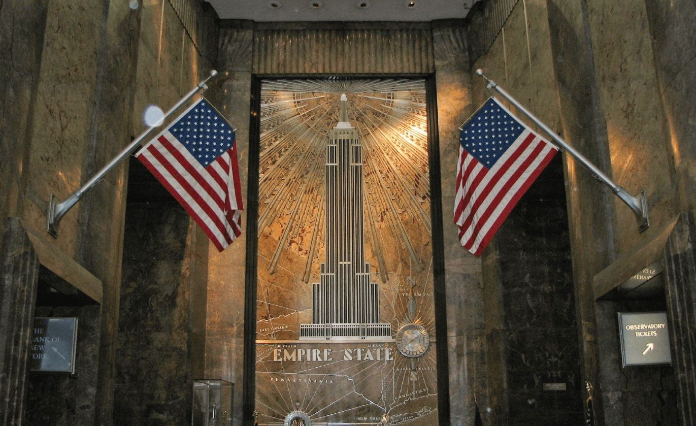 New York City Empire State Building entrance