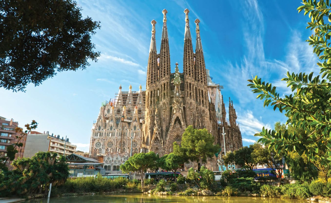 La Sagrada Familia - the impressive cathedral designed by Gaudi, which is being build since 19 March