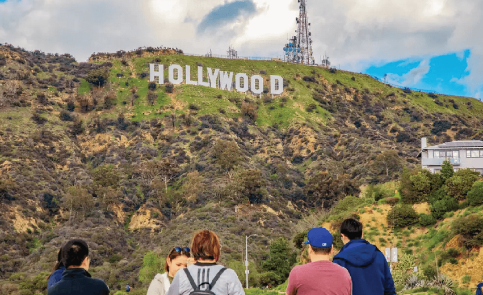 Griffith Park to see the Hollywood Sign