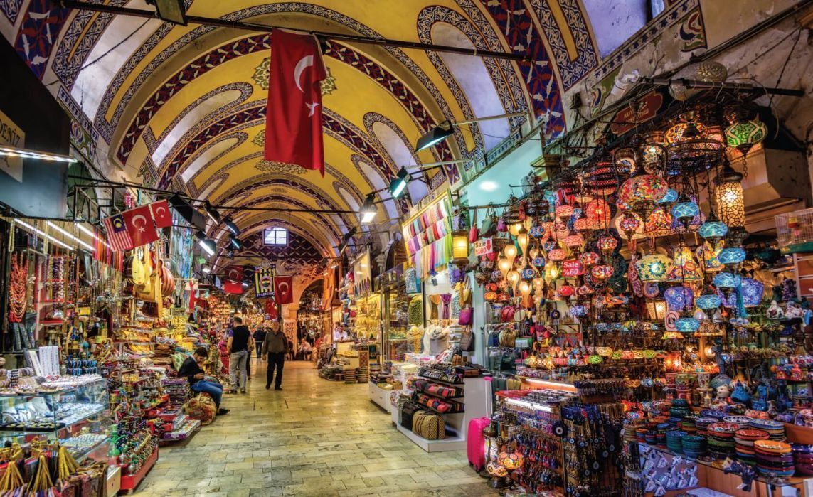 The Istanbul Grand Bazaar is the most famous oriental covered market in the world. Istanbul