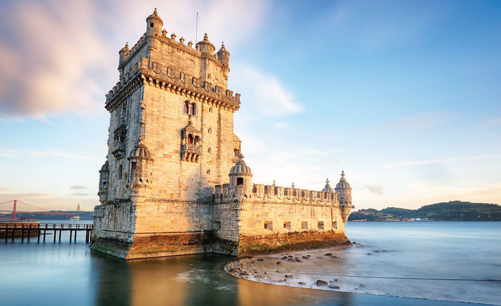 Lisbon, Belem Tower - Tagus River, Portugal