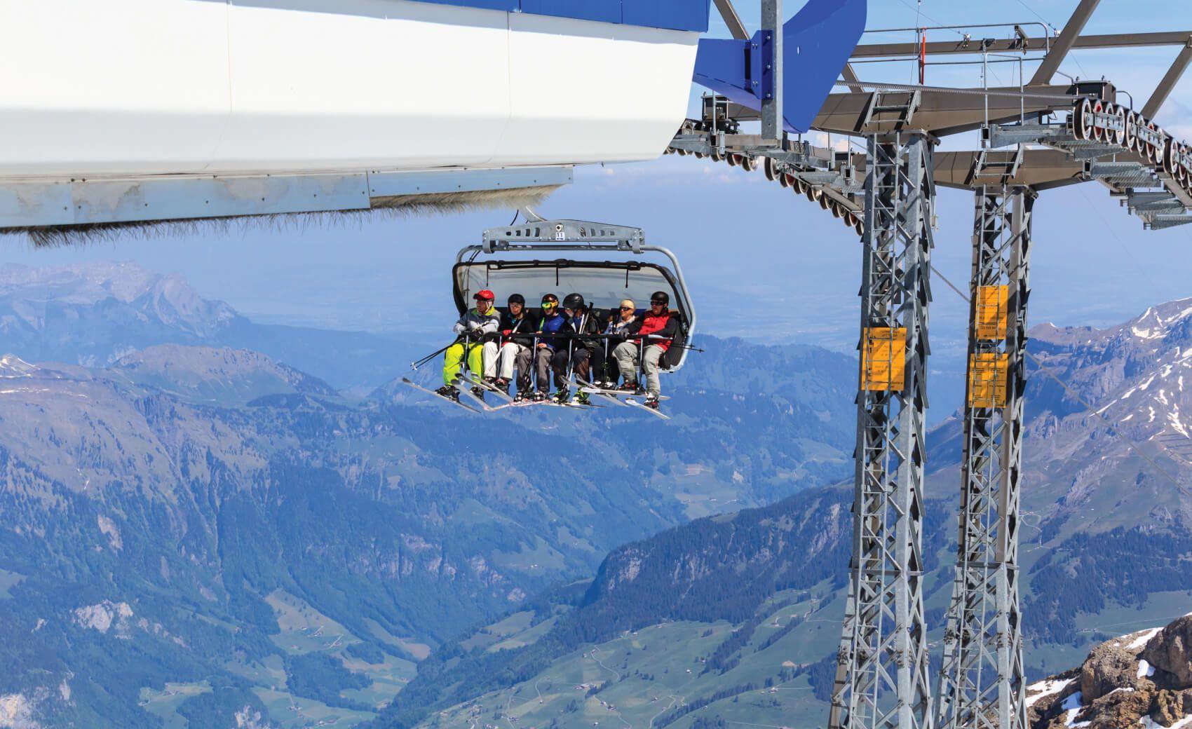 Mt Titlis, Switzerland