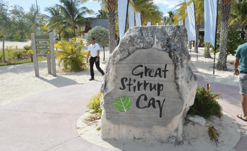 Great Stirrup Cay Islands