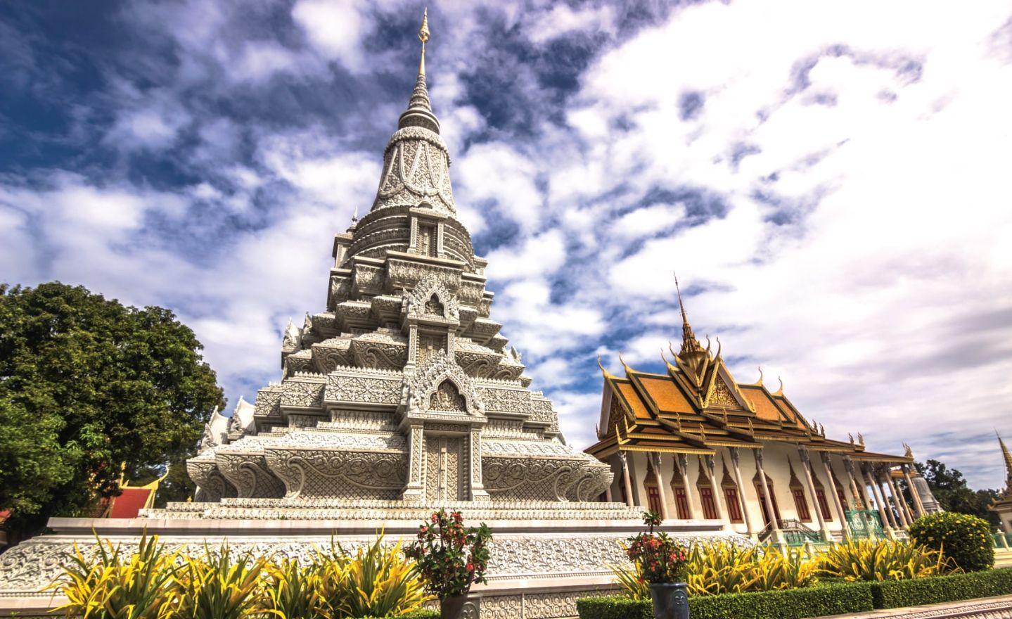 The Silver Pagoda of Royal Palace, Cambodia